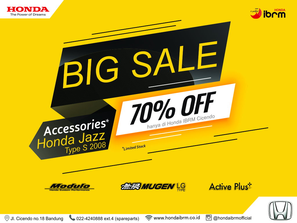 BIG SALE Accessories Honda Jazz 2008 70% Off